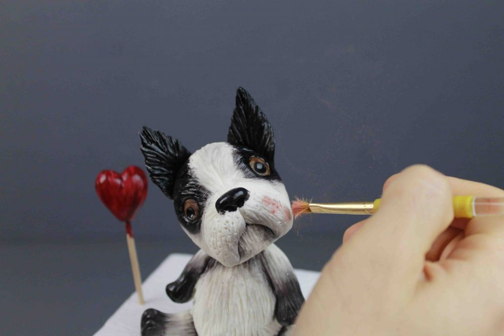 Nino, The Lovely Bulldog – How To Model A Dog With Sugar Paste
