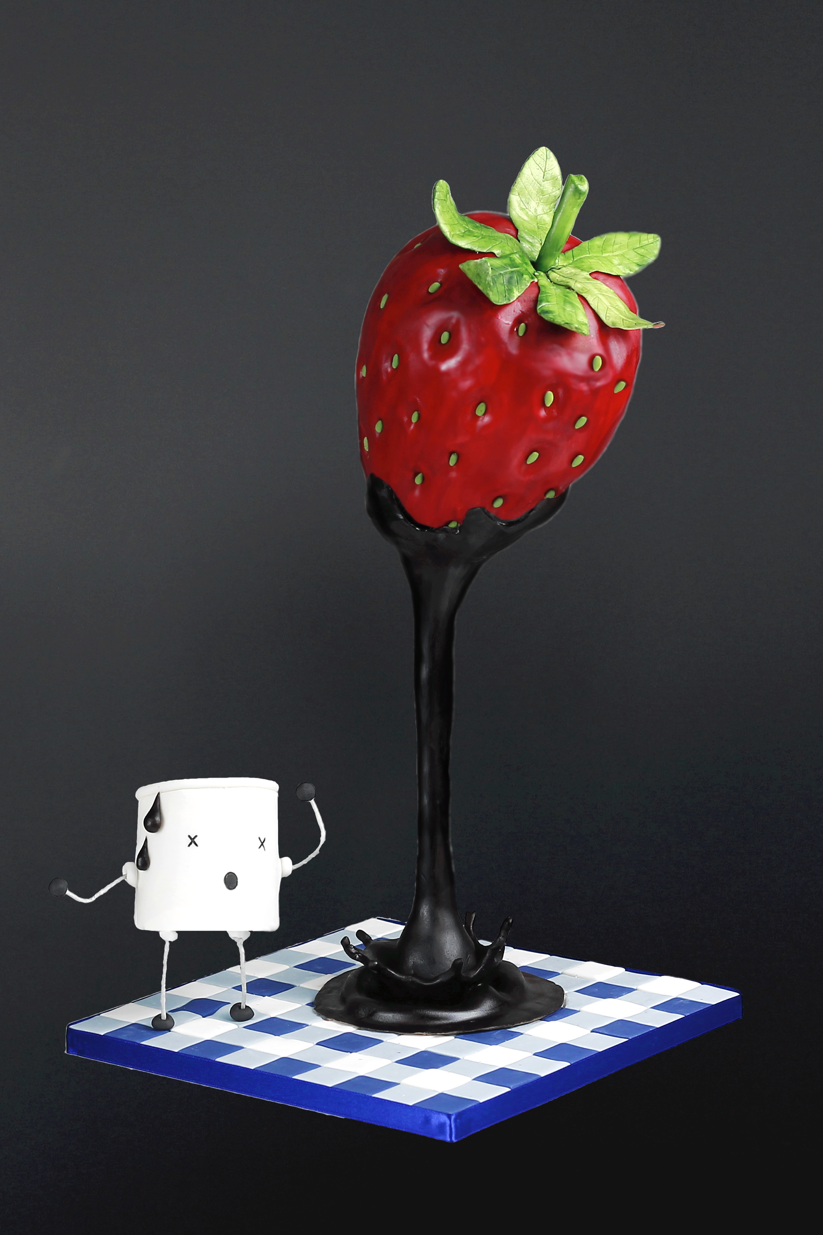 giant_strawberry_carved_gravity_defying_cake_le_doux_collage