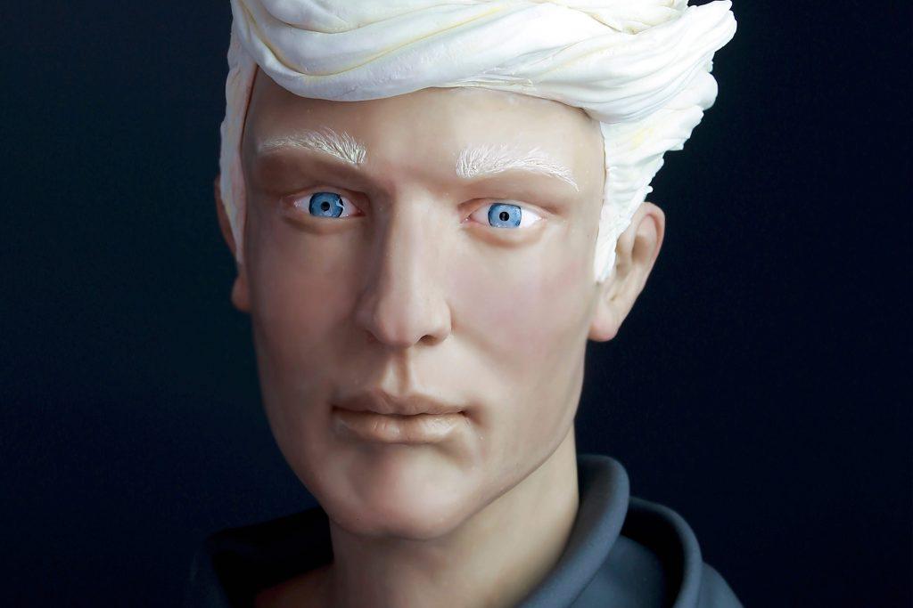Proporciones rostro humano para modelar en chocolate. Todos los trucos