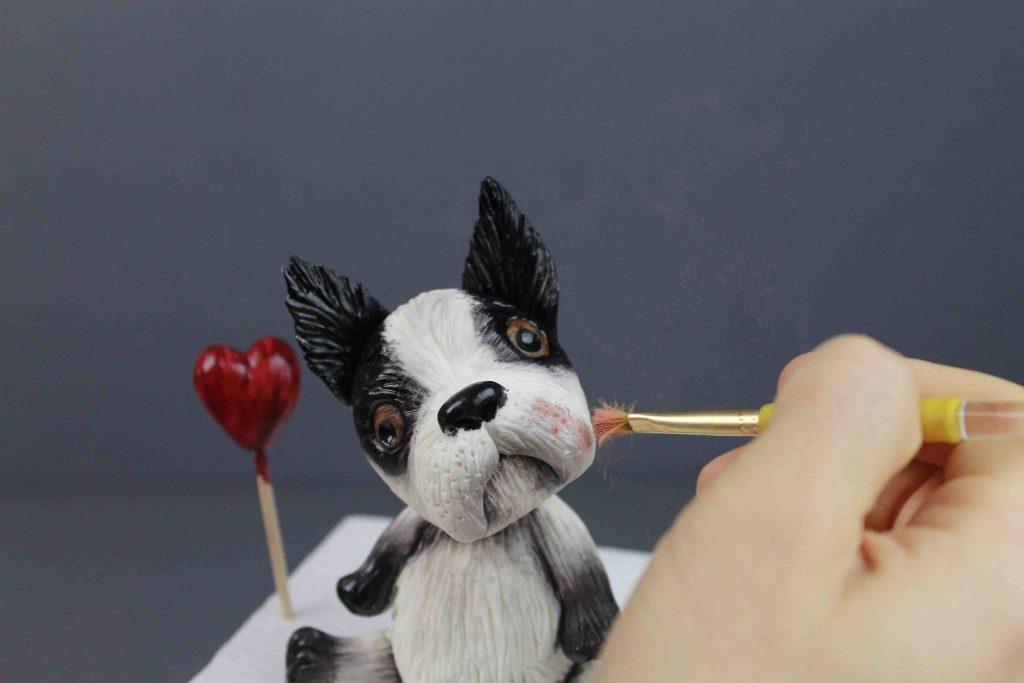 Nino, The Lovely Bulldog – Cómo Modelar Un Perro En Pasta De Azúcar
