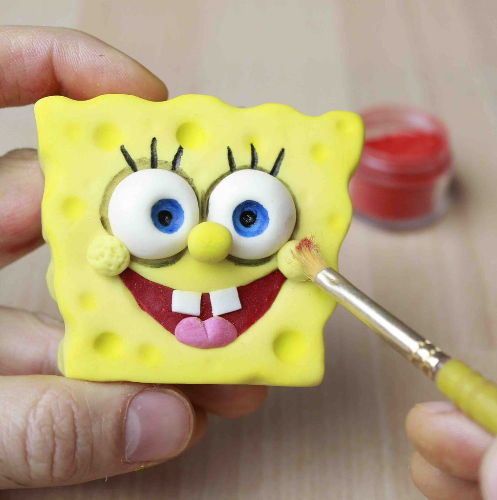 SpongeBob SquarePants Tutorial: Modelling with Fondant