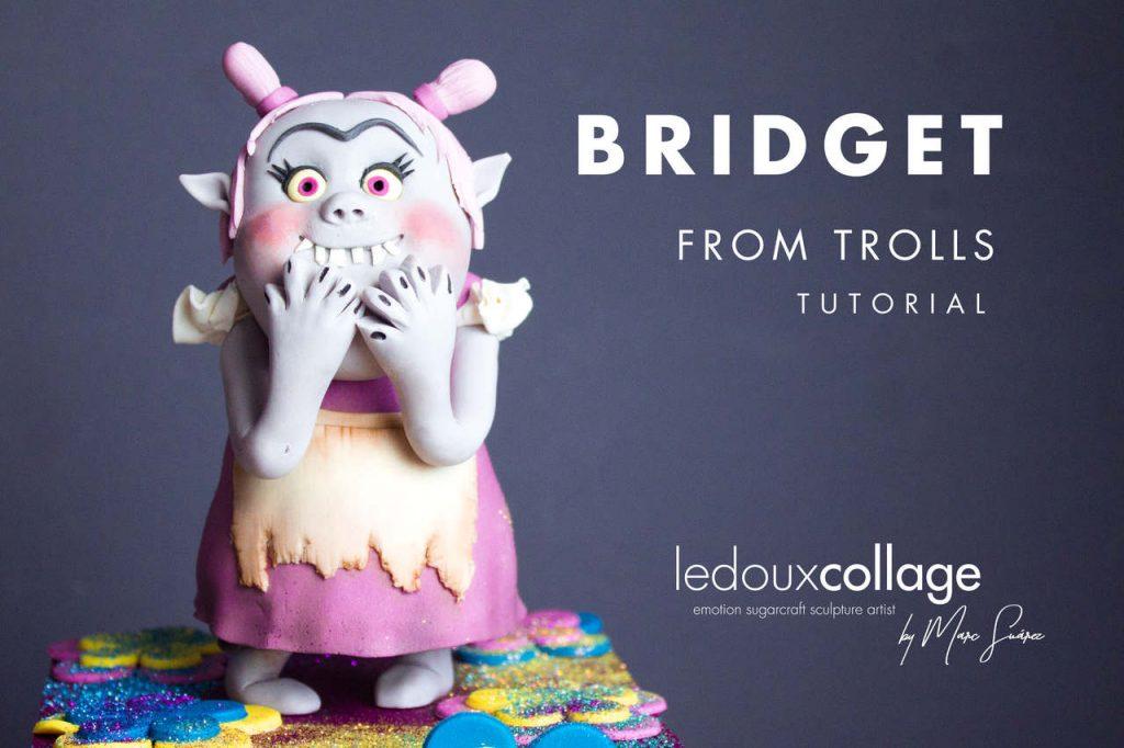 Bridget From Trolls Tutorial: Modelling with Fondant